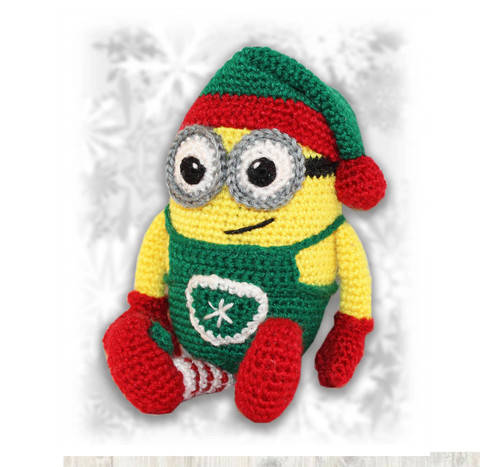 Minion Christmas Elf Crochet Pattern