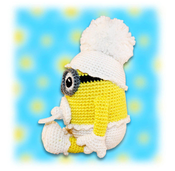 Amigurumi Minion with Keychains | Shopee Philippines | 546x561