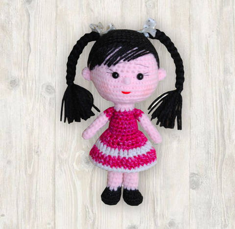 Lucy Doll Crochet Pattern