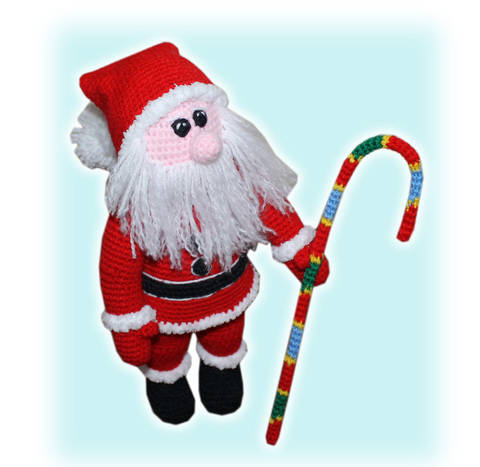 Santa Claus Father Christmas Crochet Pattern at Makerist