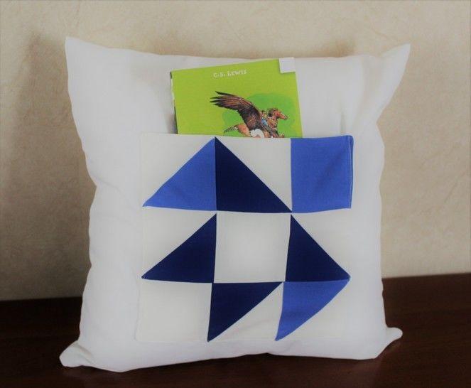 Coussin oiseau range livre chez Makerist - Image 1