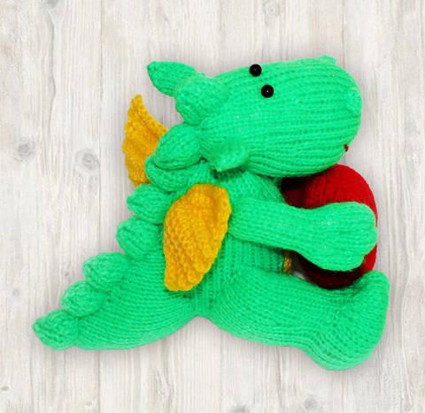 Denny Dragon Knitting Pattern