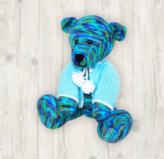 Bear Knitting Pattern at Makerist - Image 1