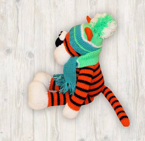 Tiger Knitting Pattern