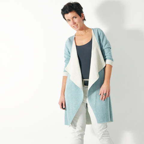 eBOOK # 87 CHILL.cardigan size XS-XXXL English language