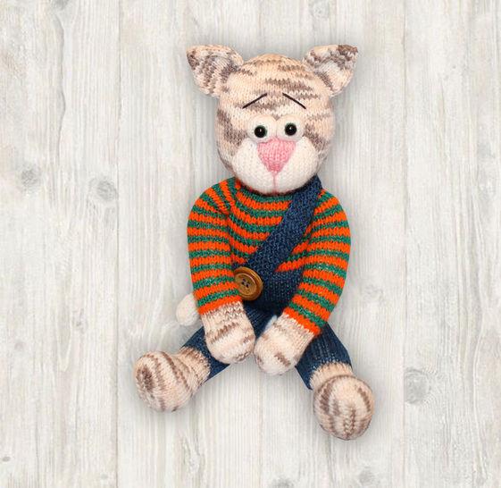 Cat Knitting Pattern at Makerist - Image 1