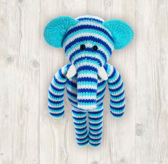 Elephant Knitting Pattern at Makerist - Image 1