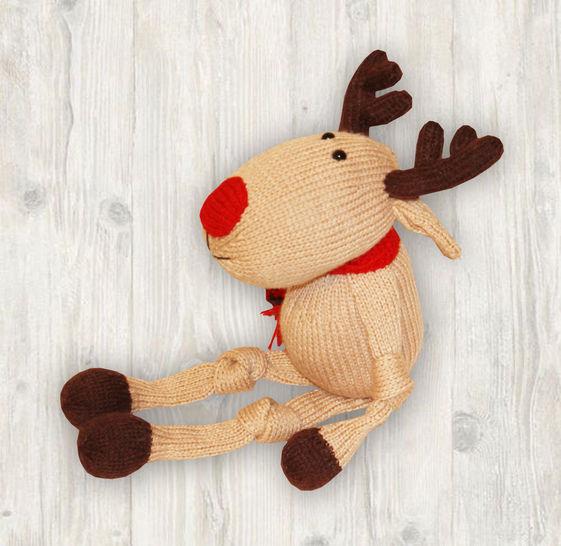 Reindeer Knitting Pattern at Makerist - Image 1