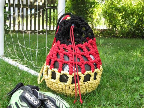 Ballnetz - Deutschland aus Textilgarn