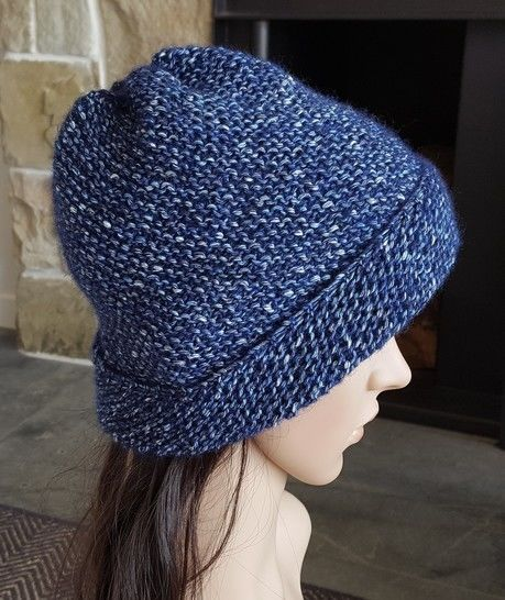 Diagonal, garter stitch, family beanie - Charley at Makerist - Image 1