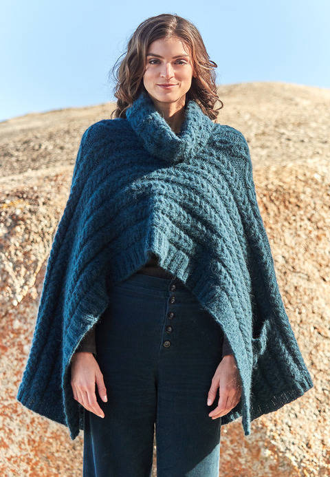 Damen-Cape Maybritt bei Makerist