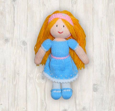 Leila Doll Knitting Pattern