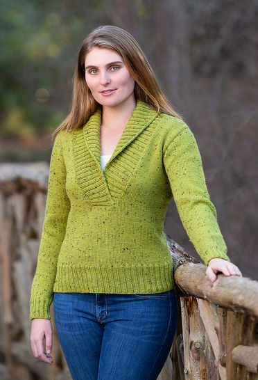 Bozeman Top-Down Pullover #B123 at Makerist - Image 1