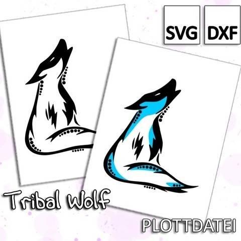 Tribal Wolf - Plottdatei