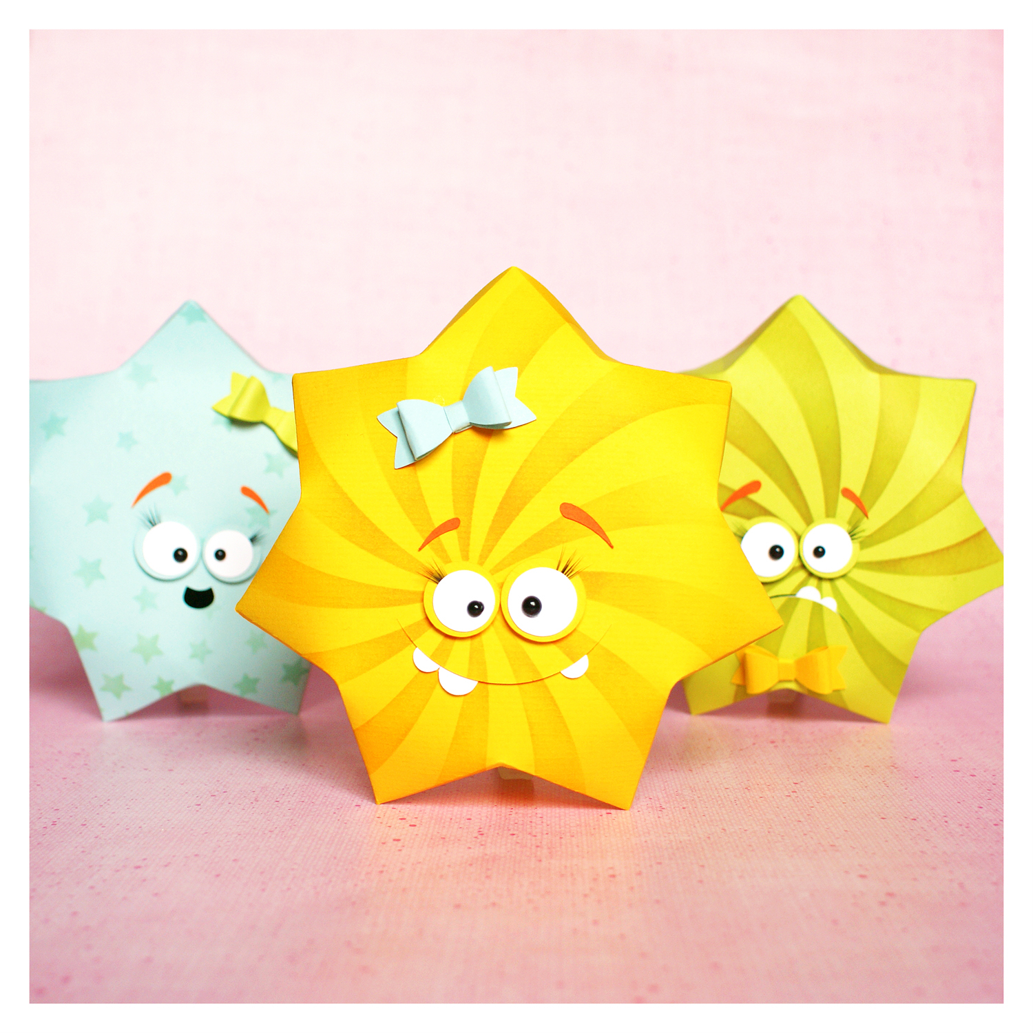 "cutting file - sunny star box ""monster"" 3in1 ENGL"