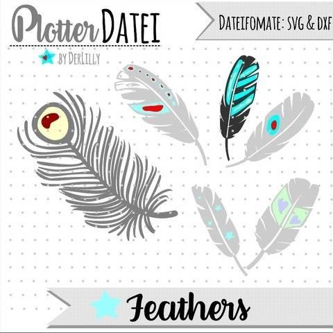 #044 Feathers bei Makerist