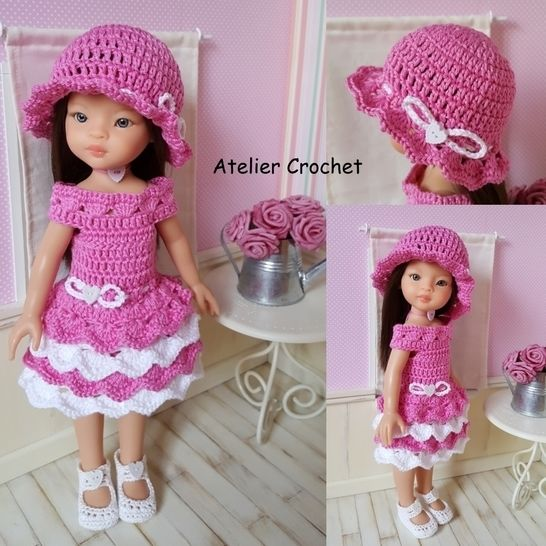 """Clotilde"" crochet pattern for Paola Reina at Makerist - Image 1"