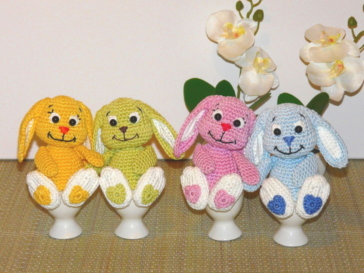 Crochet Pattern Bunny Egg Cosy at Makerist - Image 1
