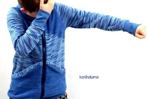 Kombi-eBook Sweatjacke Caro Gr.50-164