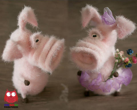 213 Frosya the Pig soft toy by Pertseva Ma at Makerist
