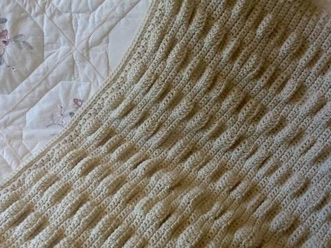 Sheep in the valley baby blanket 🐑  at Makerist