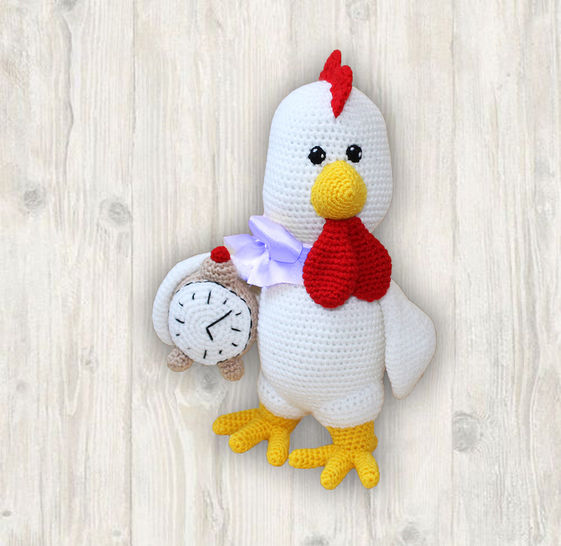 Rooster Crochet Pattern at Makerist - Image 1