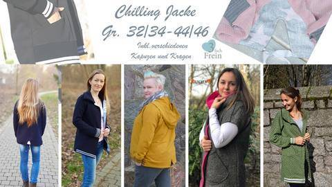eBook Jacke Chilling Gr. 32/34-44/48