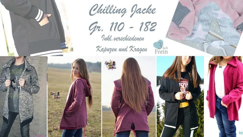 eBook Jacke Chilling Gr.110-182 bei Makerist - Bild 1