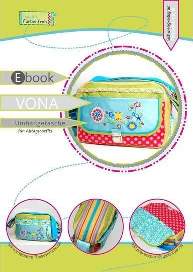 ebook VONA ♥ ♥ ♥ Umhängetasche für Alltagsoutfits bei Makerist - Bild 1