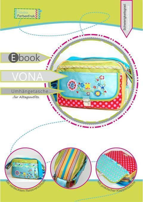 ebook VONA ♥ ♥ ♥ Umhängetasche für Alltagsoutfits