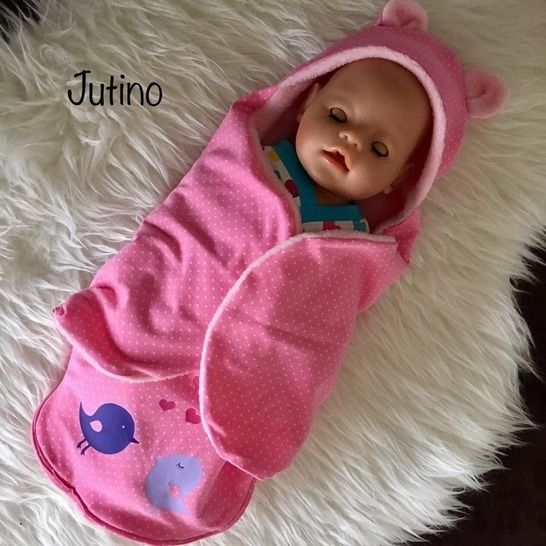 *Dress up your  Baby Doll vol.4* Einschlagdecke 19-50cm bei Makerist - Bild 1