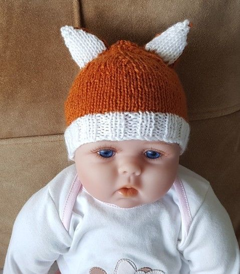 Baby Beanie with bear or cat ears- Sunny at Makerist - Image 1