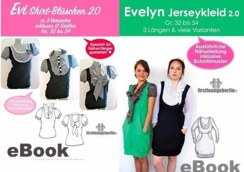 Evi & Evelyn Shirt& Kleid Sommerkleid Damenkleid Shirtkleid
