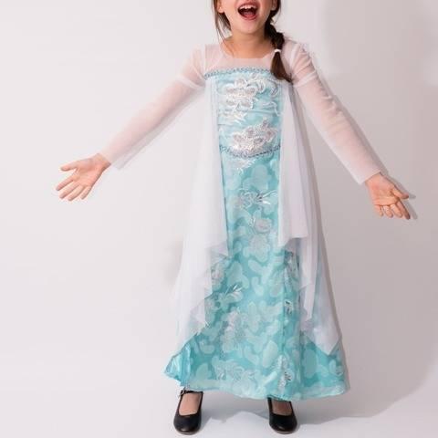 Déguisement Reine Elsa - patron et explications détaillées