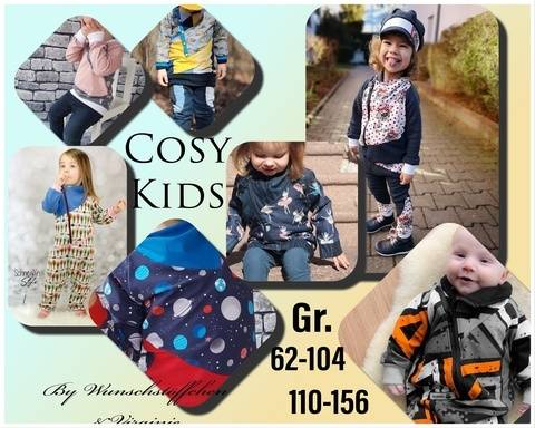 Cosy Kids Overall 62-104