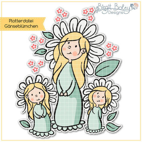Birgit Boley Designs • Gänseblümchen