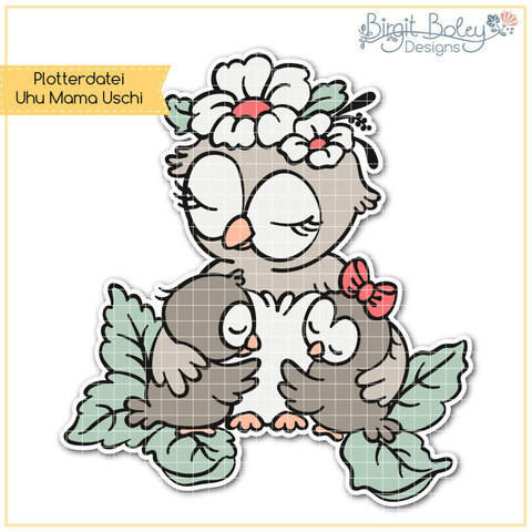 Birgit Boley Designs • Uhu Mama Uschi