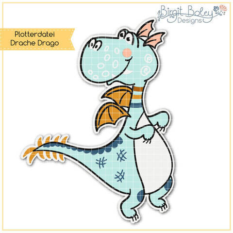 Birgit Boley Designs • Drache Drago