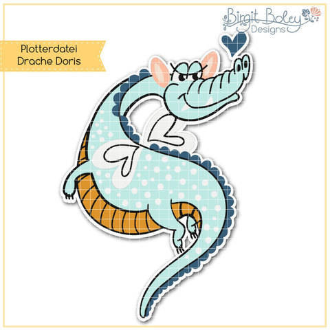 Birgit Boley Designs • Drache Doris