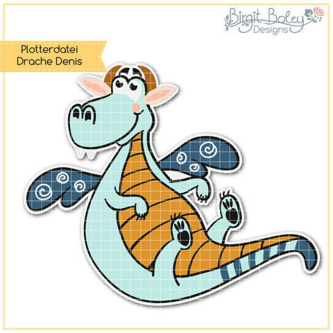 Birgit Boley Designs • Drache Denis