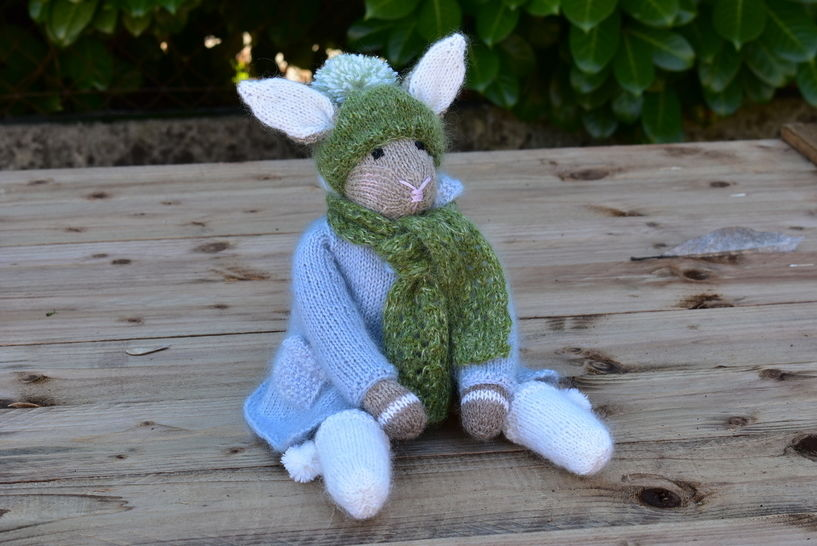 Rabbit Doll the woodland Collection at Makerist - Image 1