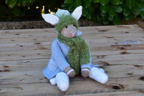 Rabbit Doll the woodland Collection at Makerist