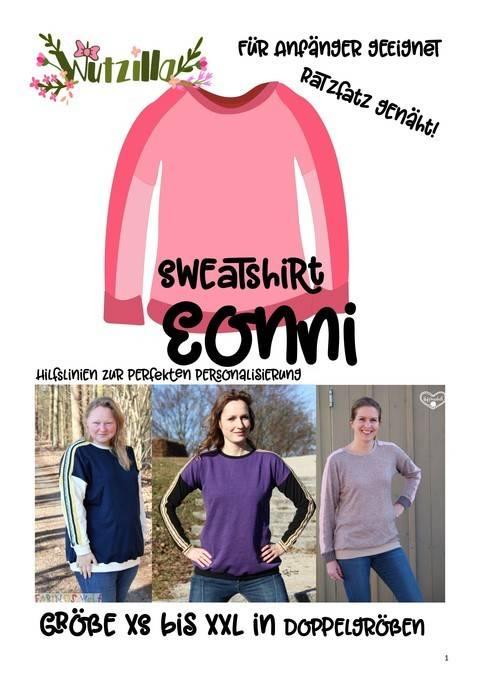 Eonni easy Damen Sweatshirt * Ebook