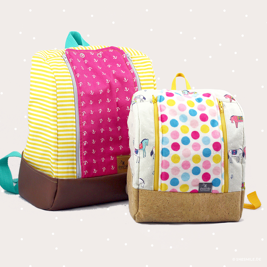 KlapPack rucksack (sewing instructions and pattern)