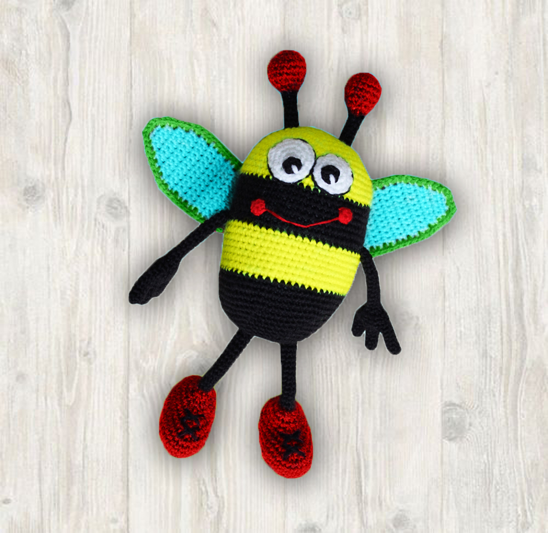 Bob Humble Bee / Bumblebee Crochet Pattern