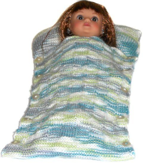 Doll sleeping bag  pattern - Sleeping Time at Makerist - Image 1
