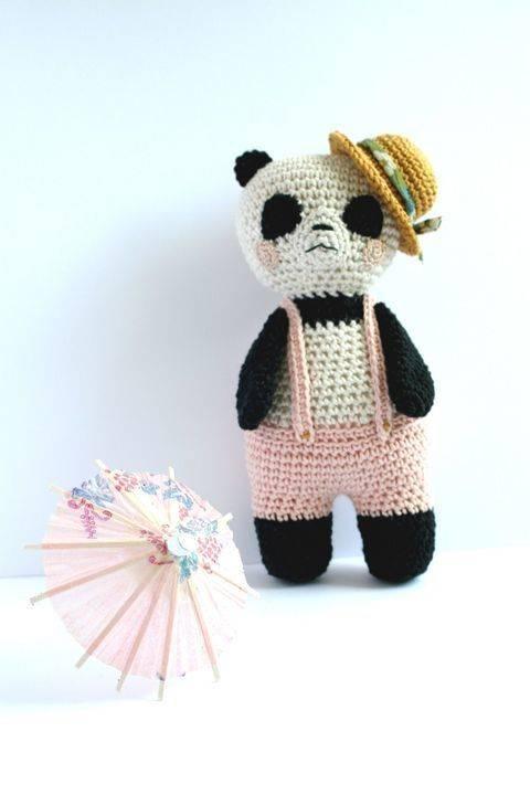 Panda-Sun - patron détaillé