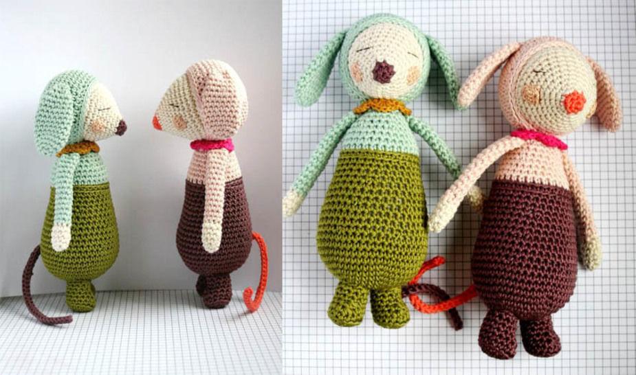 Olive et Violette - patron détaillé chez Makerist - Image 1
