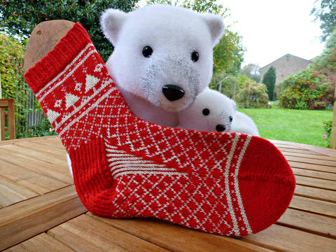 Socks Are For Life Not Just For Christmas - Knitting Pattern at Makerist