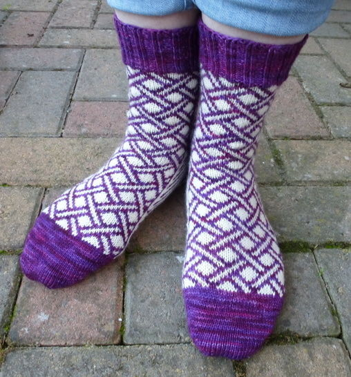 Crossrail - Knitting Pattern at Makerist - Image 1